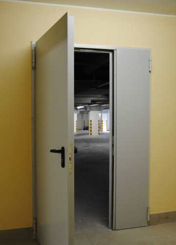Fire Rated Doors With Corner Frame to Install on Plasterboard Partitions