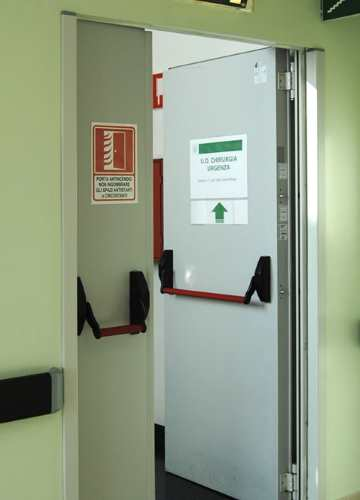 Fire Rated Doors for Installation on Sub-Frame